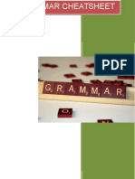 grammar cheatsheet