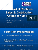 LGA Consulting - Market Realities and Sales &  Distribution Advice for Mexico