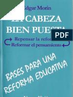 Morin Edgar - La Cabeza Bien Puesta.pdf