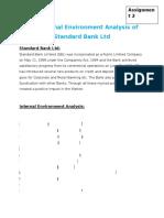 The Internal ENvironment Analysis of STandard Bank assignment2 (1)