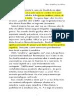 Kant, Lo Bello y Lo Sublime, Pt. 1