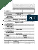 Formato de Novedades FMP