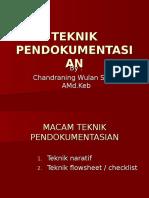 Teknik Pendokumentasian