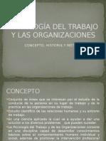 Psicología Del Trabajo y Las Organizaciones