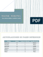 MatLab - Robotics