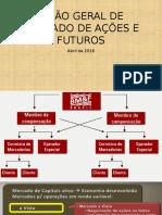 Visão Geral de Mercado de Ações e Futuros