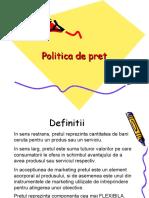 08 Politica de Pret