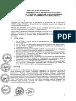 Directiva de Ee.ff Trimestral
