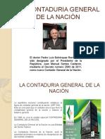 La Contaduria General de La Naciòn Exposicion