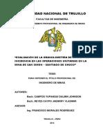 Indice Tesis Minas Granulometria