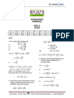 Jee Mains 1 (Solutions) 16-04-15