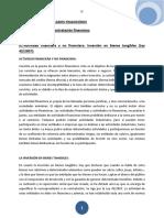Teoría de Derechos Mercados Financieros