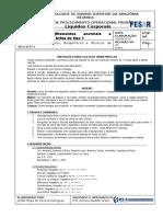 POP Exame de Urina Tipo 1