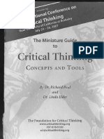 CriticalThinking - Small Guide