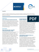 May 2016 Compliance Monthly Newsletter