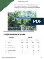 TISS Mumbai Fee Structure - Career Anna