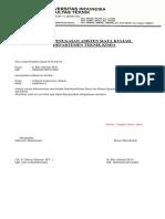 Surat Penugasan Asisten DTK