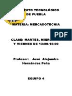 INSTITUTO TECNOLÓGICO DE PUEBLA Mercadotecnia.docx