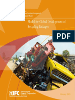 Model for Global Development of Recycling Linkages