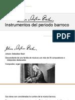 Bach e Instrumentos Barrocos