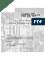 REDES ORGANIZACIONALES Y DESARROLLO ECONÓMICO EN CIUDADES MEDIAS- LOS CASOS BAHÍA BLANCA Y RÍO CUARTO