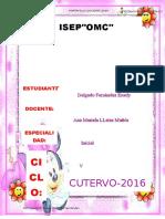 Portafolio Ingles  Educacion Inicial V