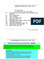 3) Mantenimiento Productivo Total (TPM)