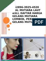 +62896-3925-4520 Jual Mutiara Laut Asli, Daftar Harga Gelang Mutiara Lombok, Perhiasan Gelang Mutiara