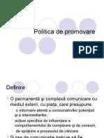 09 Politica de Promovare