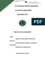 Trabajo Nº1 Proyectos - Rosales Soto Ricardo