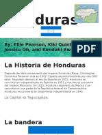spanish country - honduras