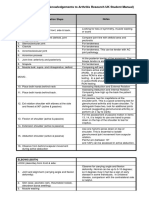 Annotated MSK UL Checklist