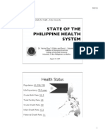 State of the Philippine Health System