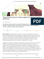 Elena Ferrante Sono Io__ Intervista - Repubblica