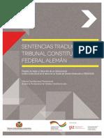 Seleccion de jurisprudencia del Tribunal Constitucional Aleman