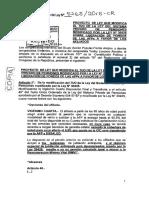 Proyecto de Ley que completa el derecho de otros afiliados para retirar aportes AFP.