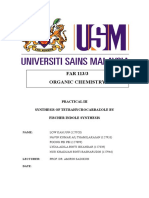 Organic Chemistry Practical 3
