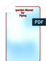 Piping Inspection Checklist Surface Runoff Drainage Basin
