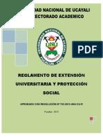 Nuevo Reglamento Proy Social Aprobado 30.09.2013