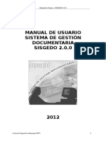 Manual de Usuario SISGEDO 2.0