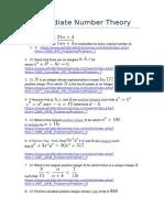 Intermediate Number Theory