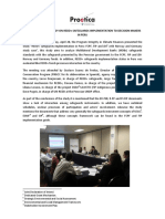 Proetica presents study on REDD+ safeguards implementation to decision makers in Peru