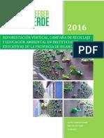 Proyecto Jardin Vertical