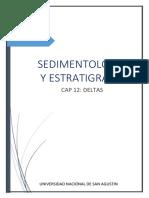 Sedimentologia y Estratigrafia Cap 12-Deltas