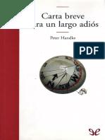 Handke, Peter - Carta Breve Para Un Largo Adios [30452] (r1.0)