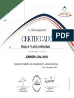 certificado FF