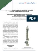 MeasurIT-KTek-White Paper-Improvements to Magnetic Level Gauge Technology-0806