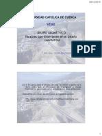 III Factores y Normas de Diseño