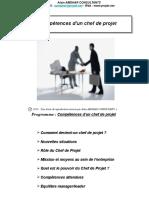 2. Compétences Du Chef de Projet