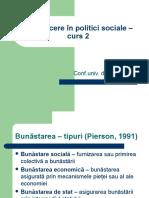 Introducere În Politici Sociale 2012-Curs2
